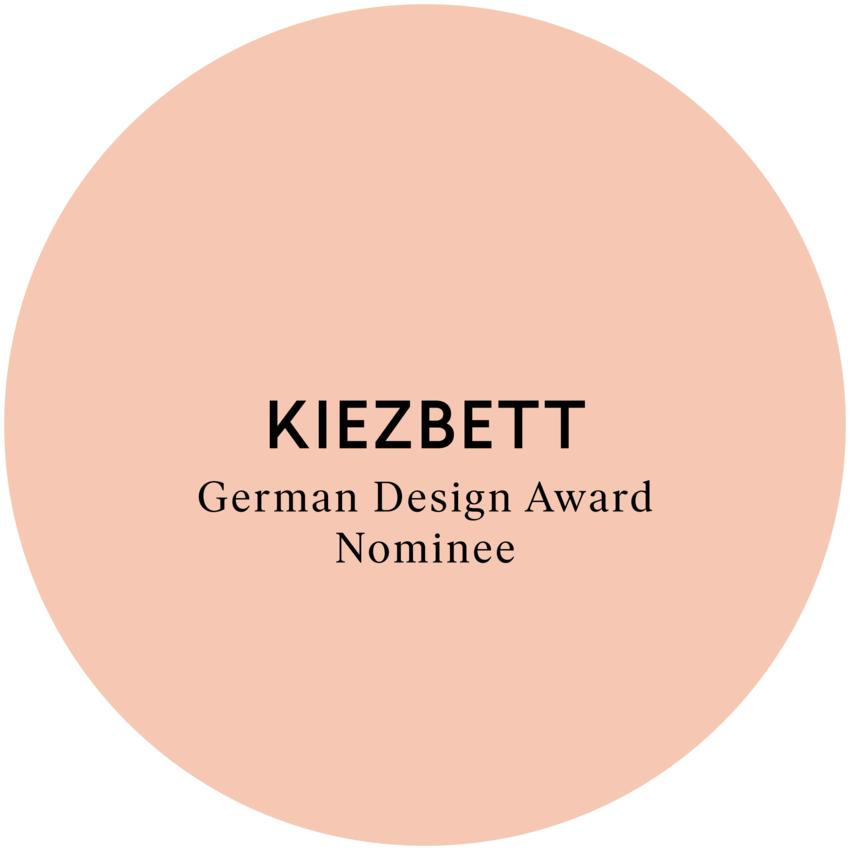 KIEZBETT für German Design Award 2017 nominiert