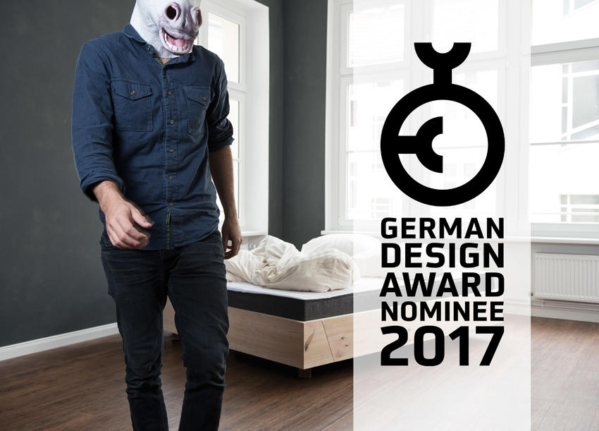 KIEZBETT nominated for German Design Award 2017