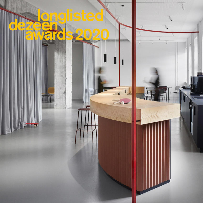 longlisted dezeen awards 2020
