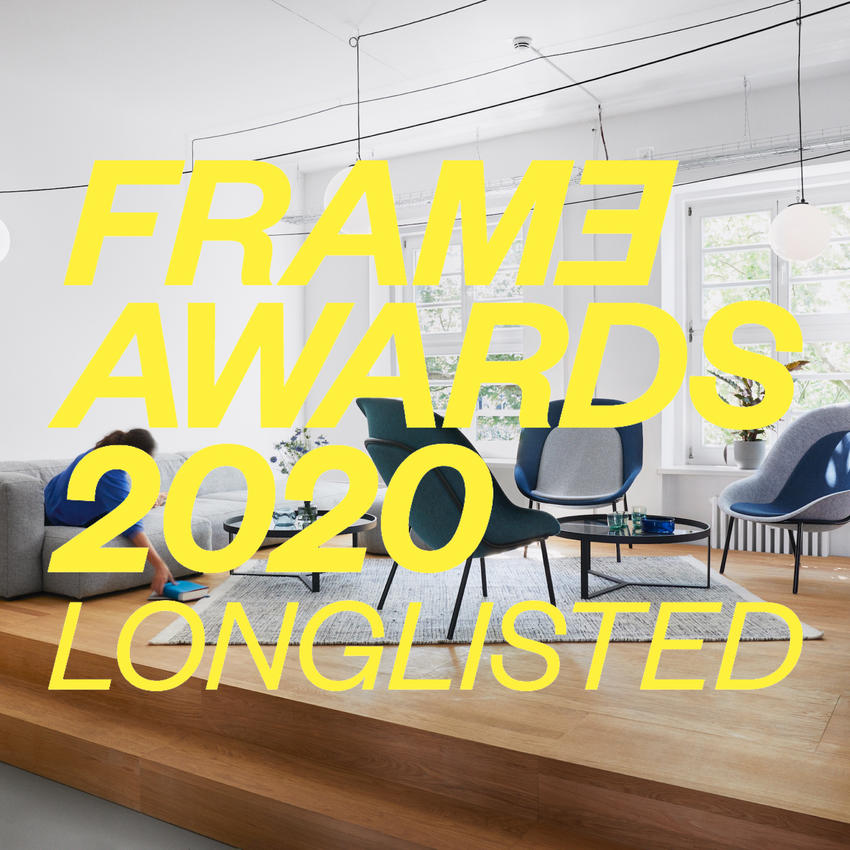 FRAME AWARDS 2020 LONGLISTED